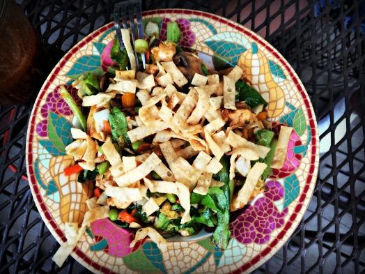 asain chicken salad 6
