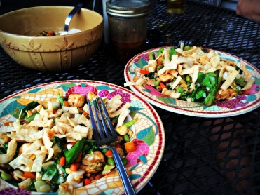 Asian chicken salad 1