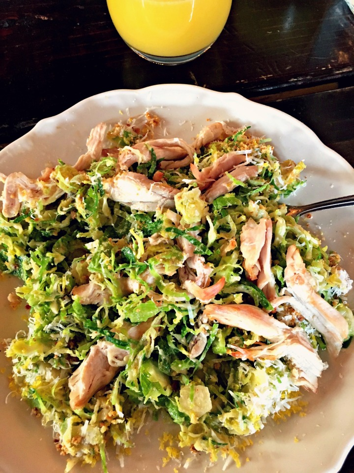 Mixed up Brussels Caesar