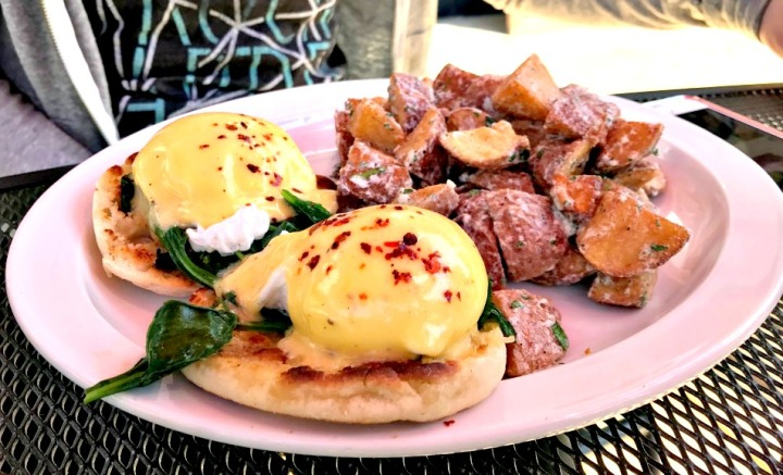 The Mill - Eggs Benedict